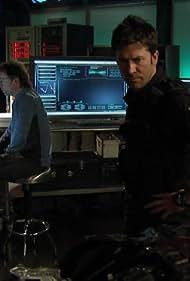 Joe Flanigan and David Nykl in Stargate: Atlantis (2004)