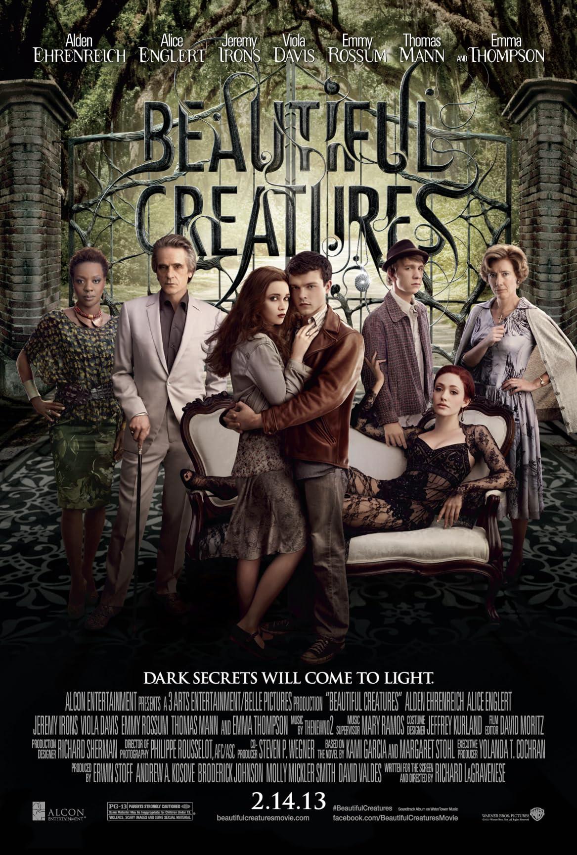 Beautiful Creatures (2013) Hindi Dubbed