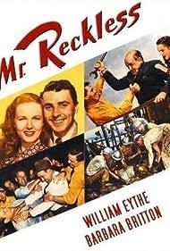 Barbara Britton, Walter Catlett, Lane Chandler, William Eythe, and James Millican in Mr. Reckless (1948)