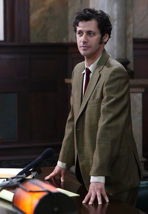 """Andy Hirsch as Leonard Weinglass in """"The Chicago 8"""""""