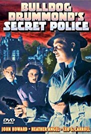 Bulldog Drummond's Secret Police Poster