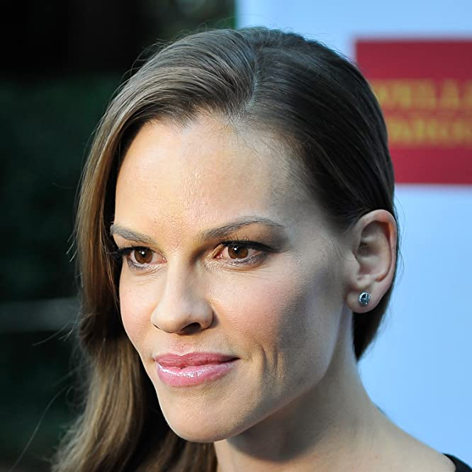 Hilary Swank at an event for The Homesman (2014)