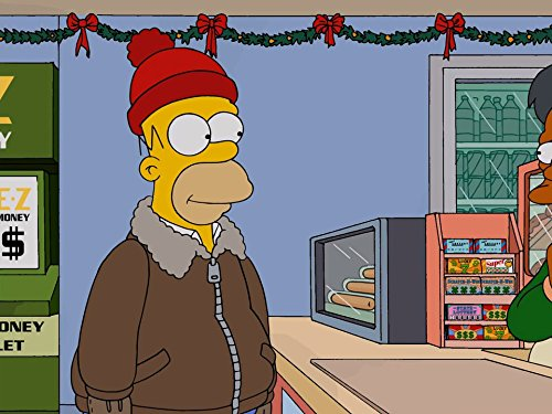 Christmas Simpsons.The Simpsons I Won T Be Home For Christmas Tv Episode 2014
