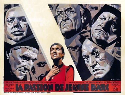 André Berley, Maria Falconetti, Armand Lurville, Maurice Schutz, and Eugene Silvain in La passion de Jeanne d'Arc (1928)
