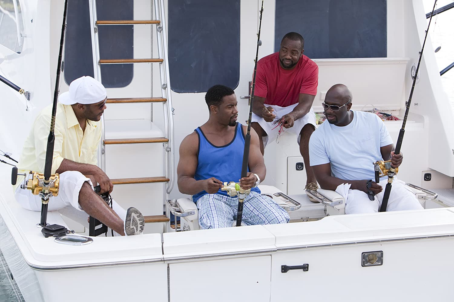 Richard T. Jones, Michael Jai White, Malik Yoba, and Tyler Perry in Why Did I Get Married Too? (2010)