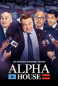 John Goodman, Mark Consuelos, Clark Johnson, and Matt Malloy in Alpha House (2013)