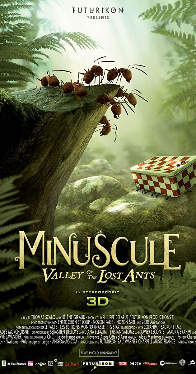 Subtitle of Minuscule: Valley of the Lost Ants