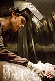 Michael C. Hall and Peter Iovino in Dexter (2006)