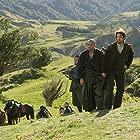 Tom Cruise, Shun Sugata, and Ken Watanabe in The Last Samurai (2003)