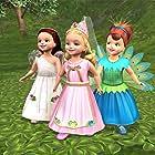Jocelyne Loewen, Britt McKillip, and Chantal Strand in Barbie as Rapunzel (2002)
