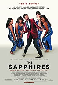 Deborah Mailman, Chris O'Dowd, Jessica Mauboy, Miranda Tapsell, and Shari Sebbens in The Sapphires (2012)