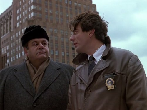 Paul Sorvino and Chris Noth in Law & Order (1990)