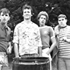 Bill Murray, Jack Blum, Russ Banham, and Keith Knight in Meatballs (1979)