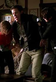 Lena Headey, Carlos Jacott, and Samantha Krutzfeldt in Terminator: The Sarah Connor Chronicles (2008)
