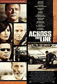 Gina Gershon, Andy Garcia, Aidan Quinn, Mario Van Peebles, and Luke Goss in Across the Line: The Exodus of Charlie Wright (2010)