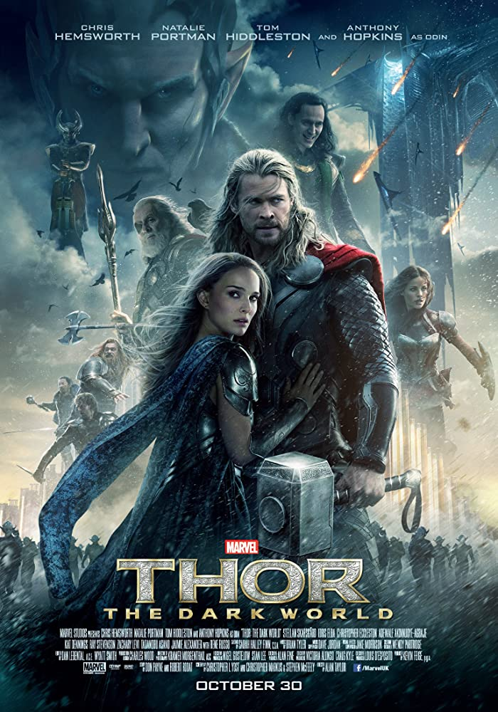 Thor: The Dark World 2013 Dual Audio Hindi ORG 720p BluRay 1.2GB ESub Download