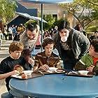 David Dorfman, Josh Peck, Alex Frost, Troy Gentile, and Nate Hartley in Drillbit Taylor (2008)