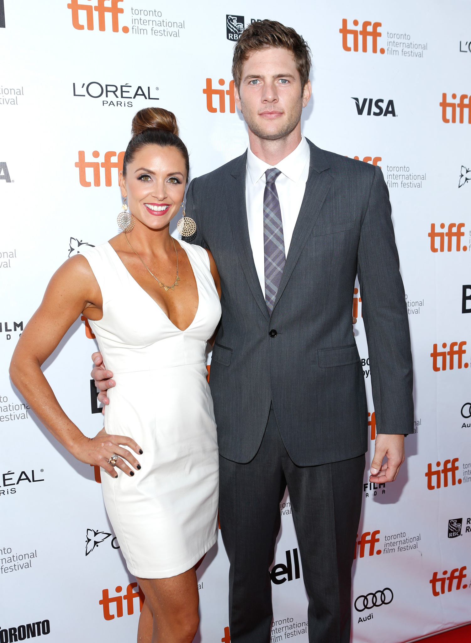 Ryan McPartlin and Danielle Kirlin at an event for The Right Kind of Wrong (2013)