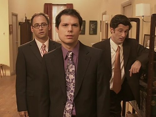 Michael Ian Black, Michael Showalter, and David Wain in Stella (2005)