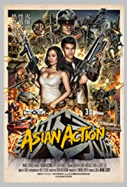 Asian Action Poster