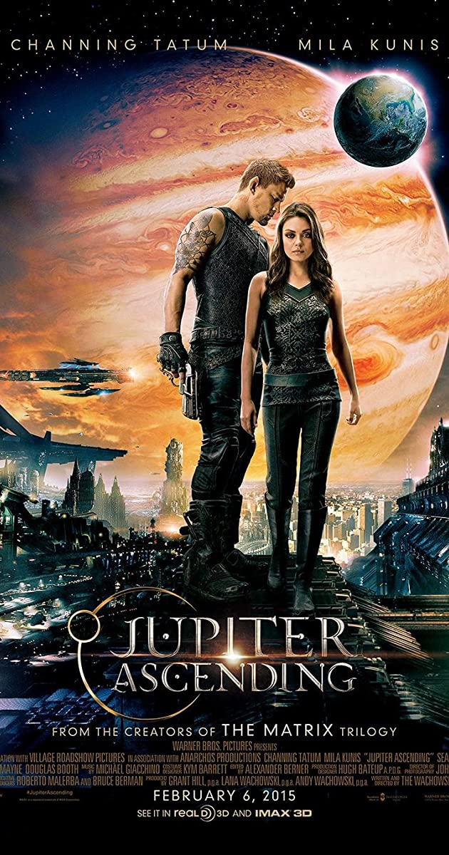 Play or Watch Movies for free Jupiter Ascending (2015)