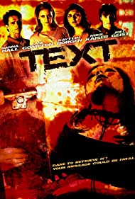 Hanna Hall, Joel Geist, Michael Kaiser, Lane Compton, and Kaytlin Borgen in Text (2008)