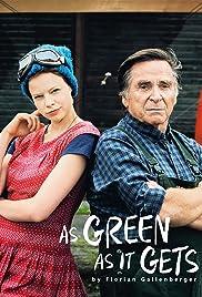 Grüner wird's nicht, sagte der Gärtner und flog davon Poster