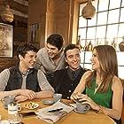 Sophia Bush, David Krumholtz, Brandon Routh, and Michael Urie in Partners (2012)