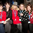 """After Party"" world premiere  Whistler Film Festival Closing Night Party  Christina Sicoli, Erica Carroll, Ali Liebert, Erin Karpluk"
