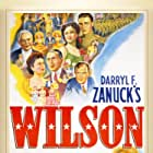 Mary Anderson, William Eythe, Geraldine Fitzgerald, Alexander Knox, and Thomas Mitchell in Wilson (1944)