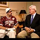 Sacha Baron Cohen and Newt Gingrich in Da Ali G Show (2000)