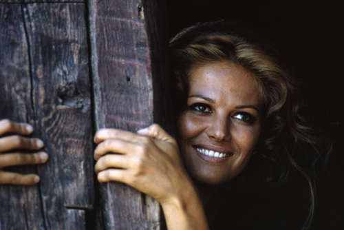 """""""Once Upon a Time in the West"""" Claudia Cardinale 1968 Paramount Pictures"""