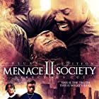 Larenz Tate and Tyrin Turner in Menace II Society (1993)