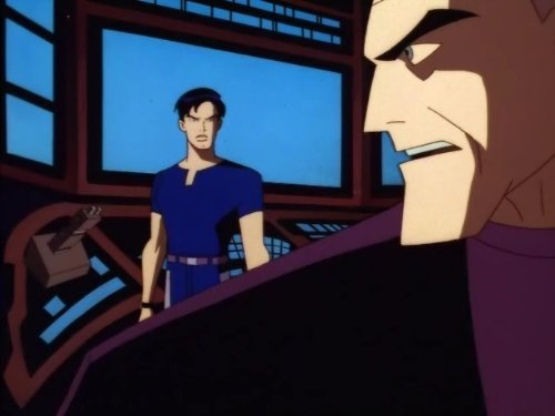 Kevin Conroy and Will Friedle in Batman Beyond (1999)