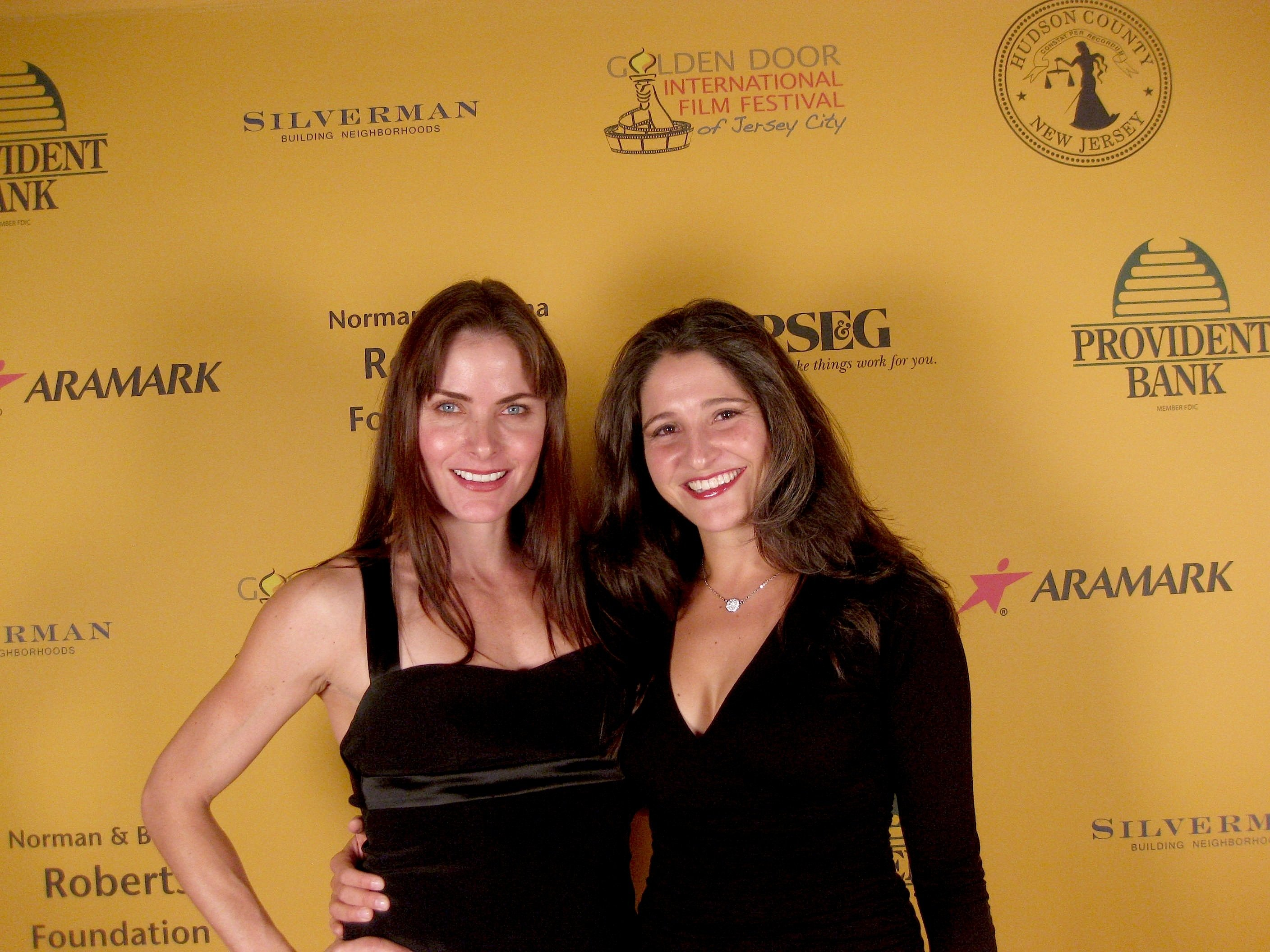 Tara Westwood (left), who stars as Jean Malone Fulton, with director Laura Thies.