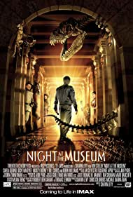 Robin Williams, Ben Stiller, Patrick Gallagher, Mizuo Peck, Rami Malek, and Crystal the Monkey in Night at the Museum (2006)
