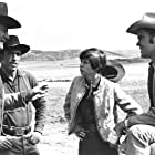 John Wayne, Glen Campbell, Kim Darby, and Ron Soble in True Grit (1969)