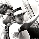 Mel Gibson and Peter Weir in The Year of Living Dangerously (1982)