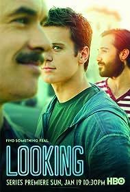 Murray Bartlett, Jonathan Groff, and Frankie J. Alvarez in Looking (2014)