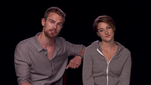 Hello from Shailene Woodley and Theo James