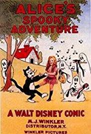 Alice's Spooky Adventure Poster