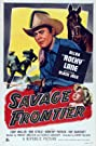 Savage Frontier (1953) Poster