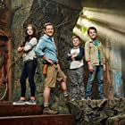 Jet Jurgensmeyer, Isabela Merced, and Colin Critchley in Legends of the Hidden Temple (2016)
