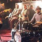 "Funk Brothers Joe Messina, Johnny Griffith, Joe Hunter, Bob Babbitt and Richard ""Pistol"" Allen perform at Baker's Keyboard Lounge."