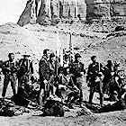 Henry Fonda, John Wayne, Pedro Armendáriz, Ward Bond, Dick Foran, Victor McLaglen, George O'Brien, and Jack Pennick in Fort Apache (1948)
