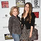 Golden Globe Winner Pat Crowley and India Irving at Mont Reve's premiere - opening night of the IFQ Film Festival - 12 April, 2012 - Raleigh Studios, Hollywood.