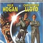 Christopher Lloyd, Hulk Hogan, and Vincent Hammond in Suburban Commando (1991)