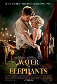 Reese Witherspoon, Christoph Waltz, Robert Pattinson, and Tai in Water for Elephants (2011)