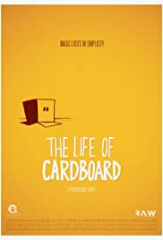 The Life of Cardboard Poster