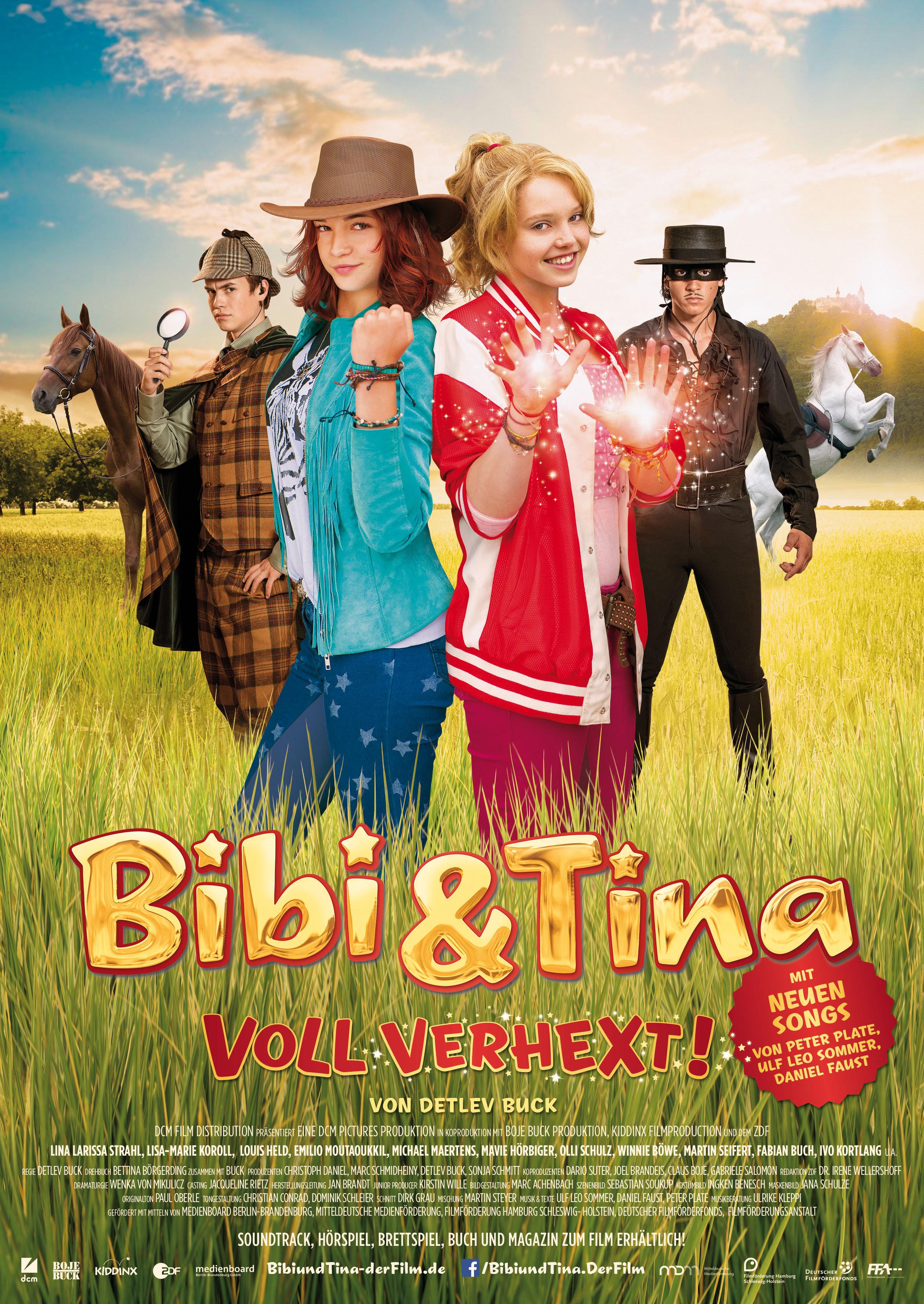 Bebė ir Tina. beviltiškai užkerėti (2014) / Bibi & Tina voll verhext! online